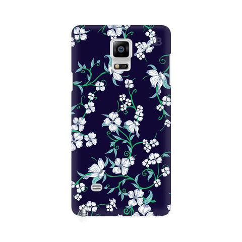 Dogwood Floral Pattern Samsung Note 4 Cover