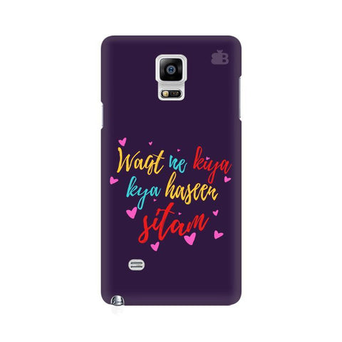 Haseen Sitam Samsung Note 4 Cover