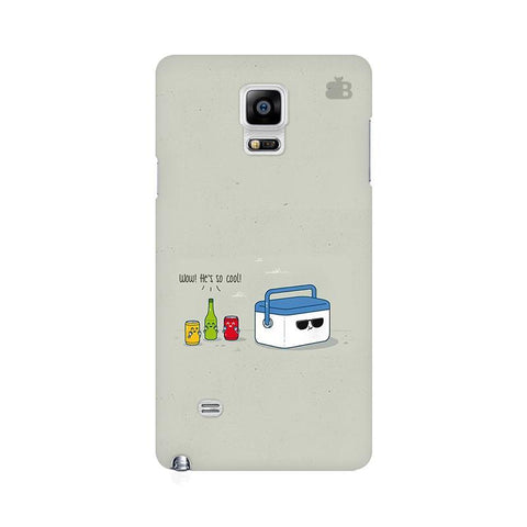 He is Cool Samsung Note 4 Cover