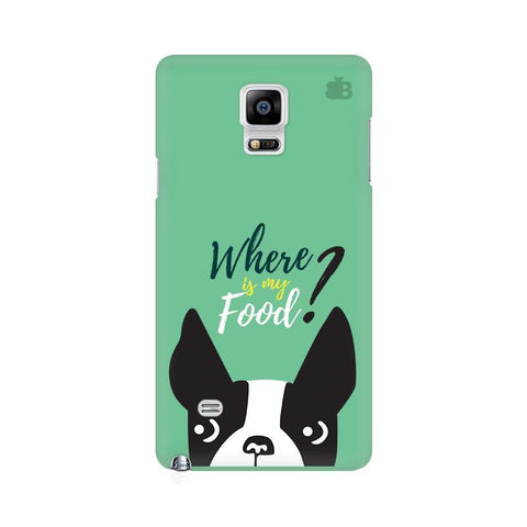 Where is my Food Samsung Note 4 Cover