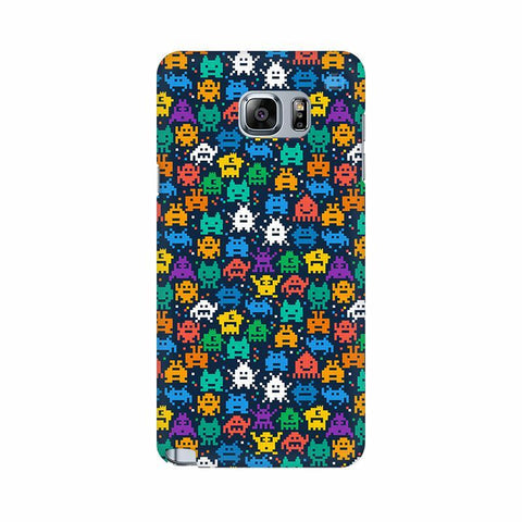 16 Bit Pattern Samsung Note 5 Cover