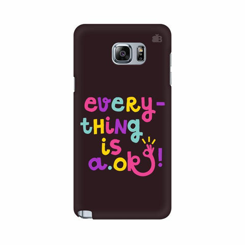 A Ok Samsung Note 5 Cover