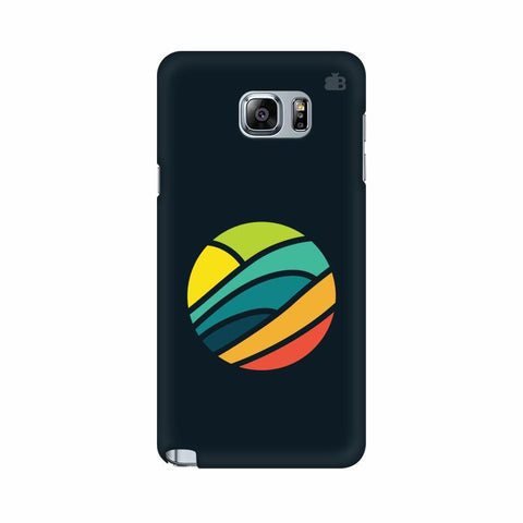 Abstract Circle Samsung Note 5 Cover