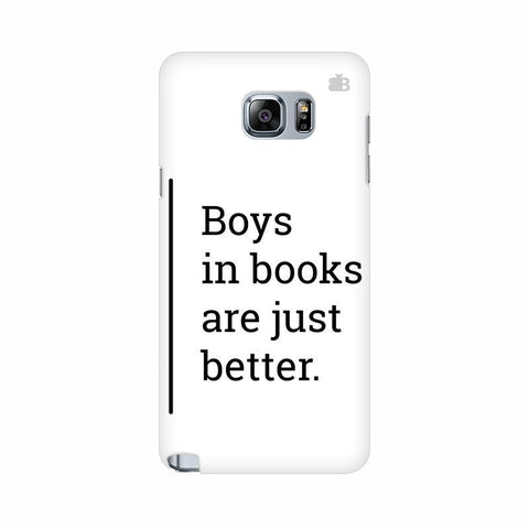 Boys in Books Samsung Note 5 Cover
