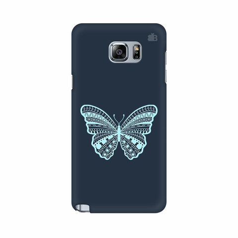 Ethnic Butterfly Art Samsung Note 5 Cover