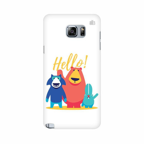 Hello Samsung Note 5 Cover
