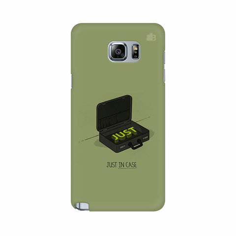 Just in Case Samsung Note 5 Cover