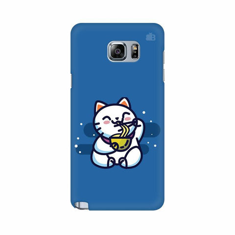 KItty eating Noodles Samsung Note 5 Cover