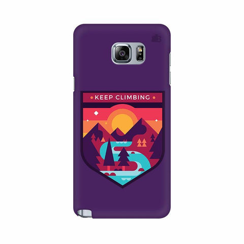 Keep Climbing Samsung Note 5 Cover