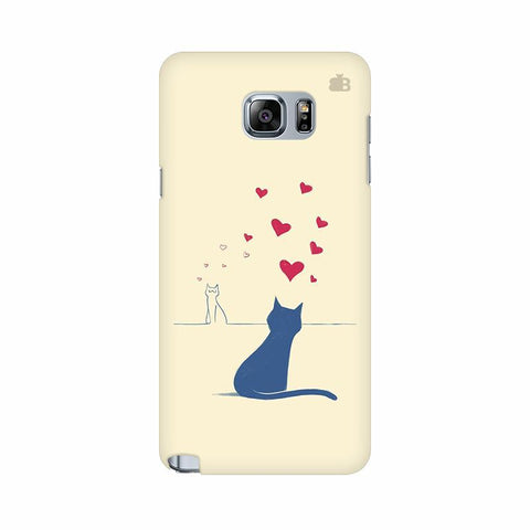 Kitty in Love Samsung Note 5 Cover