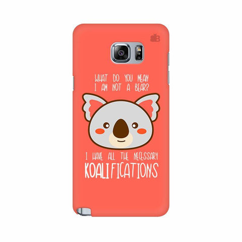 Koalifications Samsung Note 5 Cover