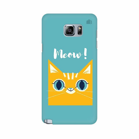 Meow Samsung Note 5 Cover
