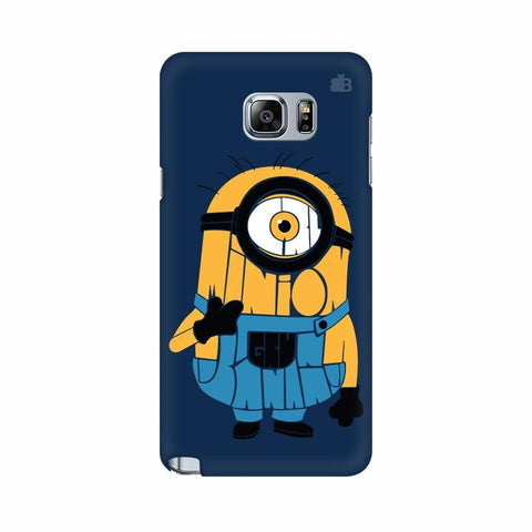 Minion Typography Samsung Note 5 Cover