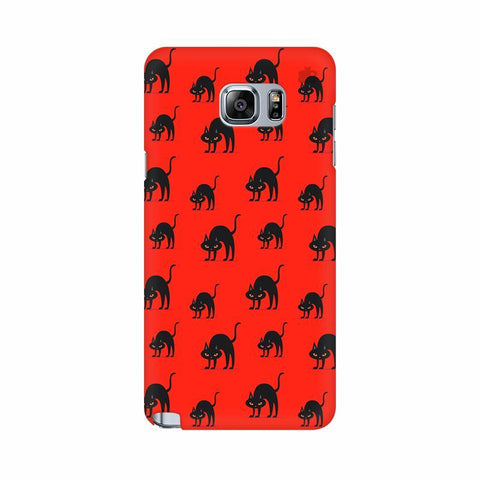 Scary Cats Samsung Note 5 Cover