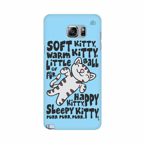 Soft Kitty Samsung Note 5 Cover
