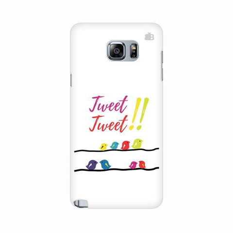 Tweet Tweet Samsung Note 5 Cover
