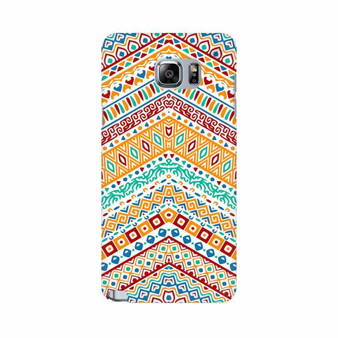 Wavy Ethnic Art Samsung Note 5 Cover