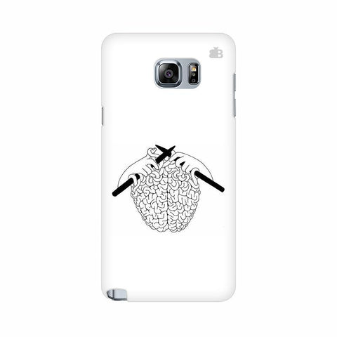 Weaving Brain Samsung Note 5 Cover