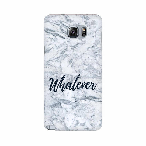 Whatever Samsung Note 5 Cover