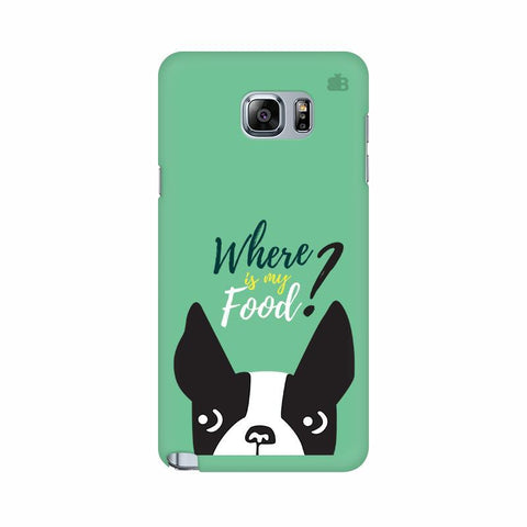 Where is my Food Samsung Note 5 Cover