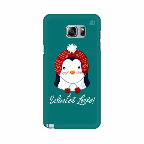 Winter Love Samsung Note 5 Cover