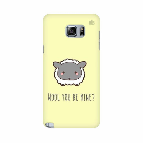 Wool Samsung Note 5 Cover