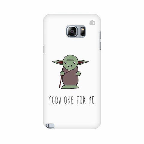 Yoda One Samsung Note 5 Cover