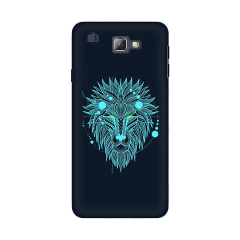 Abstract Art Lion Samsung On 5 2016 Cover