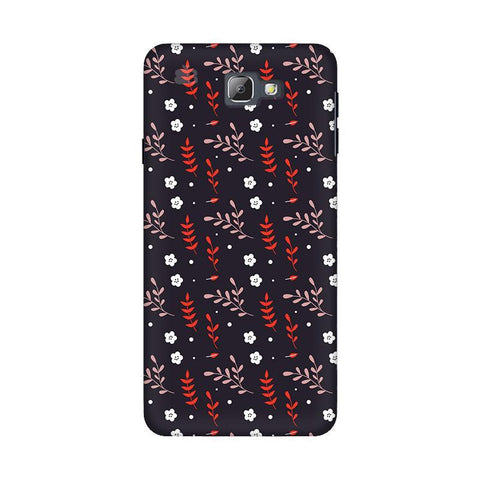 Autumn Floral Pattern Samsung On 5 2016 Cover