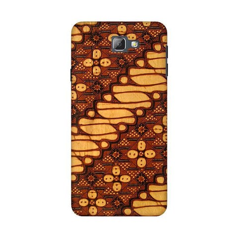 Brown Batik Samsung On 5 2016 Cover