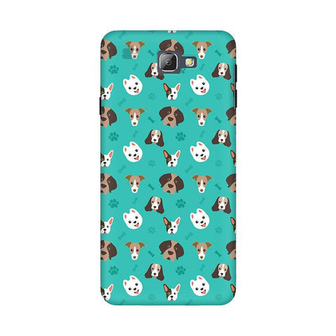 Doggie Pattern Samsung On 5 2016 Cover