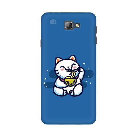 KItty eating Noodles Samsung On 5 2016 Cover