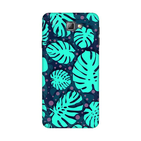 Tropical Leaves Pattern Samsung On 5 2016 Cover