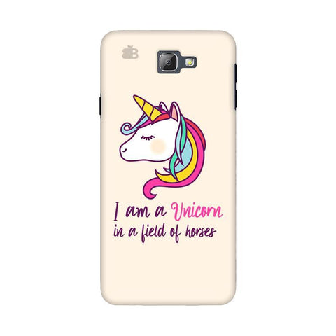 Unicorn in Horses Samsung On 5 2016 Cover