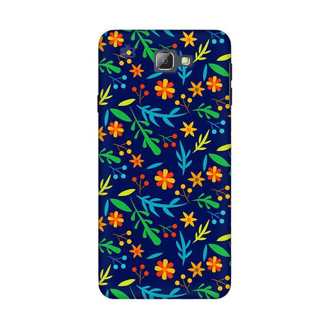 Vibrant Floral Pattern Samsung On 5 2016 Cover