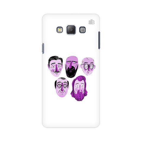 5 Bearded Faces Samsung On 5 Pro Cover