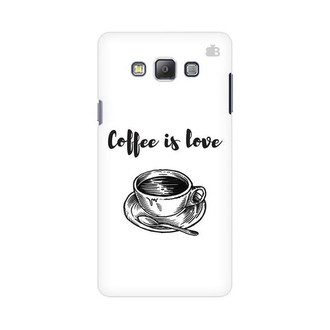 Coffee is Love Samsung On 5 Pro Cover