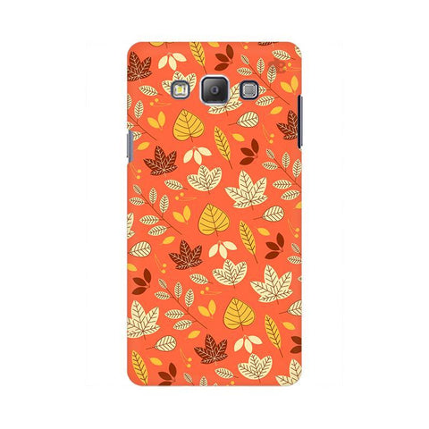 Cute Leaves Pattern Samsung On 5 Pro Cover