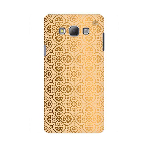 Ethnic Gold Ornament Samsung On 5 Pro Cover