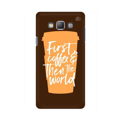 First Coffee Samsung On 5 Pro Cover