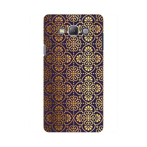 Gold Ornament Samsung On 5 Pro Cover