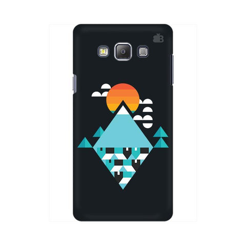 Abstract Mountains Samsung On 5 Cover