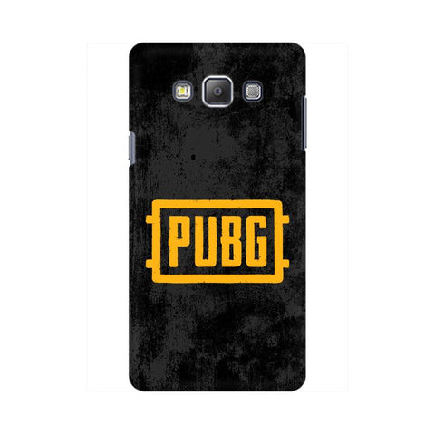 PUBG Samsung On 5 Cover