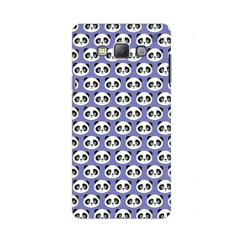 Panda Pattern Samsung On 5 Cover