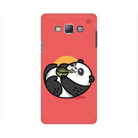 Panda eating Noodles Samsung On 5 Cover