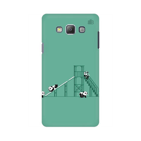 Pandas Playing Samsung On 5 Cover