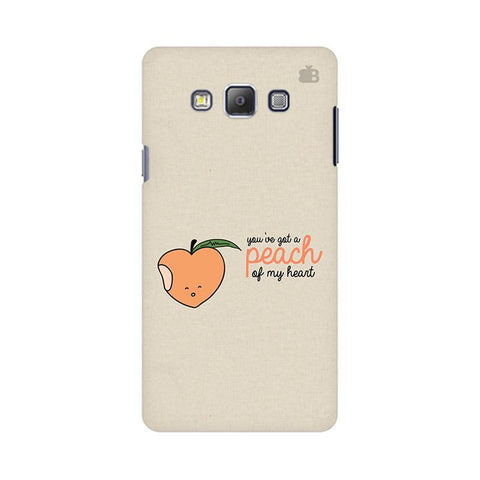 Peach of my heart Samsung On 5 Cover