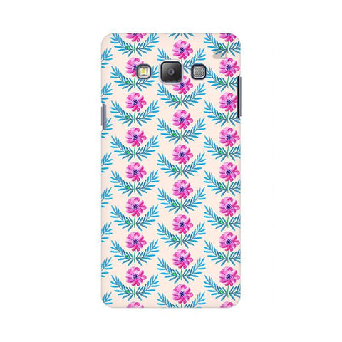 Pink Watercolor Pattern Samsung On 5 Cover