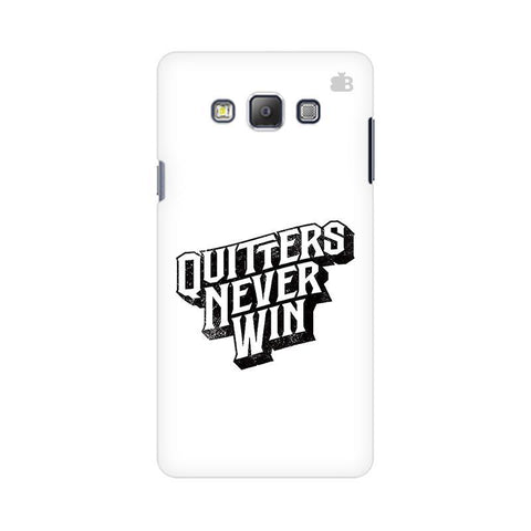 Quitters Never Win Samsung On 5 Cover