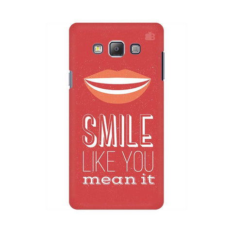 Smile Samsung On 5 Cover